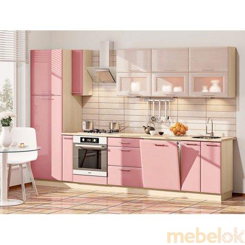 Зеркальное отображение - Кухня-183 Хай-тек 3,2 м