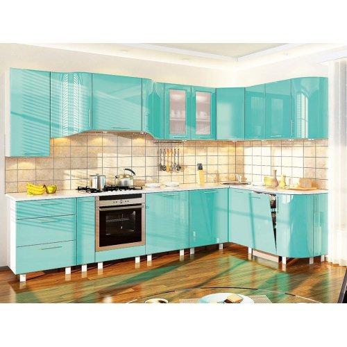 Кухня-186 Хай-тек 3,2х1,75 м