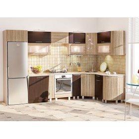 Кухня-250 Хай-тек 3,23х1,7 м