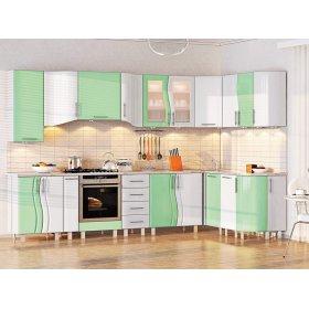 Кухня-268 Волна 3,2х1,7 м