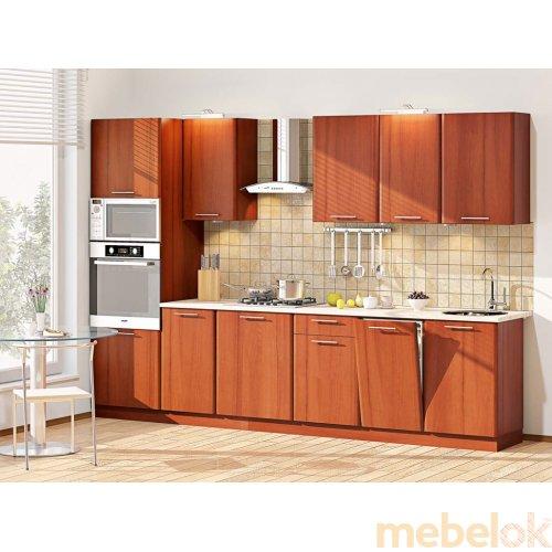 Зеркальное отображение - Кухня-83 Софт 3,1 м