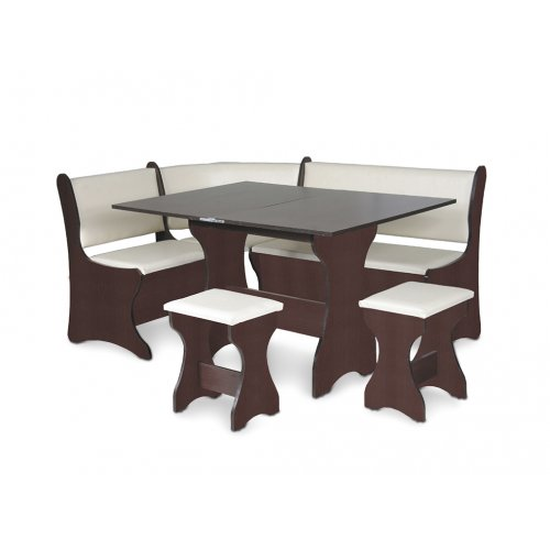Кухонный уголок Италия со столом и табуретами
