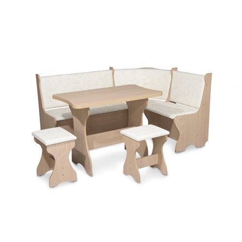 Кухонный уголок Канада со столом и табуретами