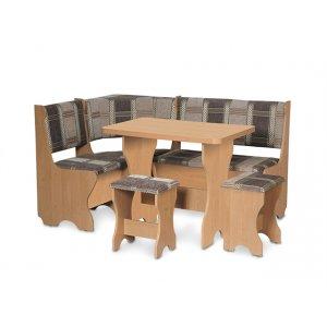 Кухонный уголок Кипр со столом и табуретом