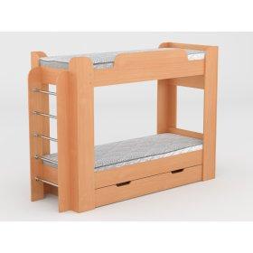 Двухъярусная кровать Твикс 70х190