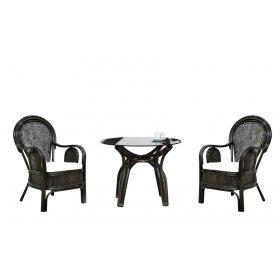Кофейный комплект Самбир (стол + 2 кресла)