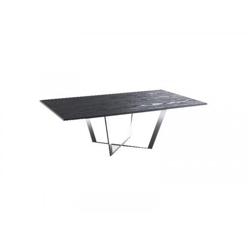 Журнальный стол Cleaf 141х81,5 черный