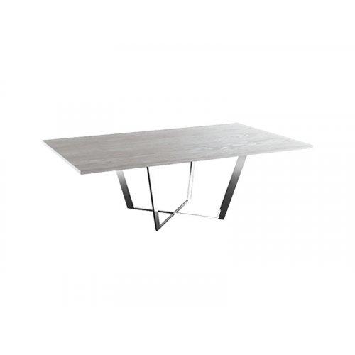Журнальный стол Cleaf 141х81,5 кремовый