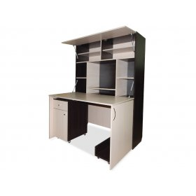 Компьютерный стол-шкаф трансформер Юля