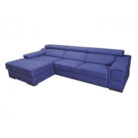 Угловой диван-кровать с боковинами Амбер