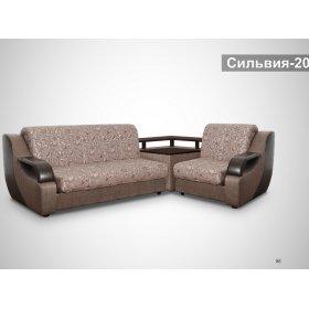 Угловой диван Сильвия-20 со столом