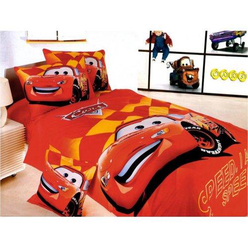 Детский полуторный комплект постельного белья KI-010