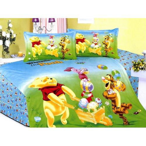 Детский полуторный комплект постельного белья KI-039