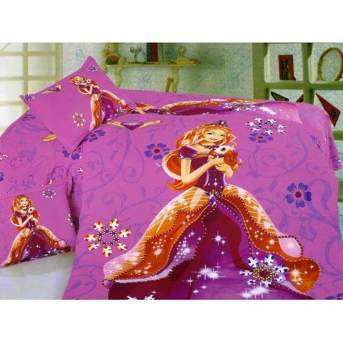 Детский полуторный комплект постельного белья KI-043