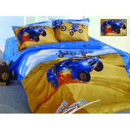 Детский полуторный комплект постельного белья KI-045