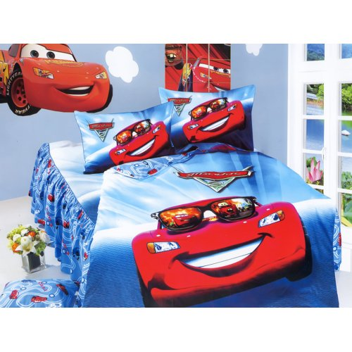 Детский полуторный комплект постельного белья KI-068