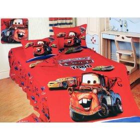 Детский полуторный комплект постельного белья KI-065