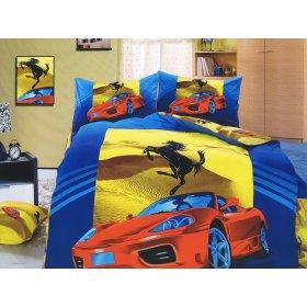 Детский полуторный комплект постельного белья KI-070