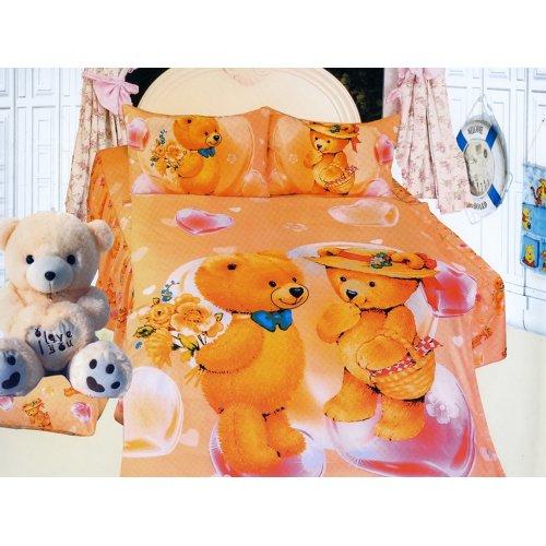 Детский полуторный комплект постельного белья KI-071