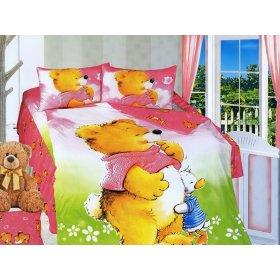 Детский полуторный комплект постельного белья KI-072