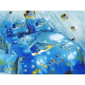 Детский полуторный комплект постельного белья KI-073