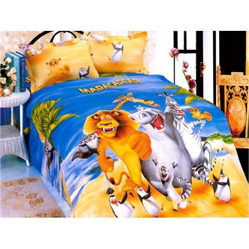 Детский полуторный комплект постельного белья KI-005