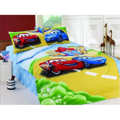 Детский полуторный комплект постельного белья KI-046