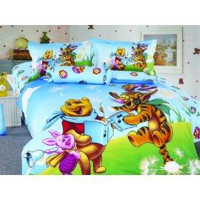Детский полуторный комплект постельного белья KI-047