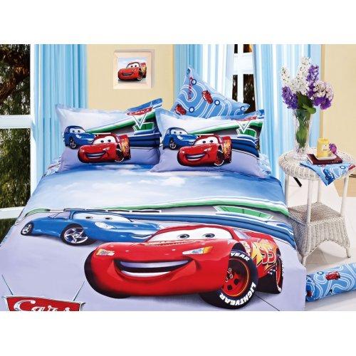 Детский полуторный комплект постельного белья KI-052