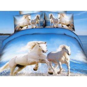 Постільні комплекти Євро-двоспальні Сатин  купити b1a9b82168684