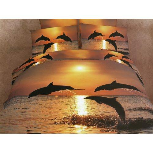Семейный комплект постельного белья АВС-267