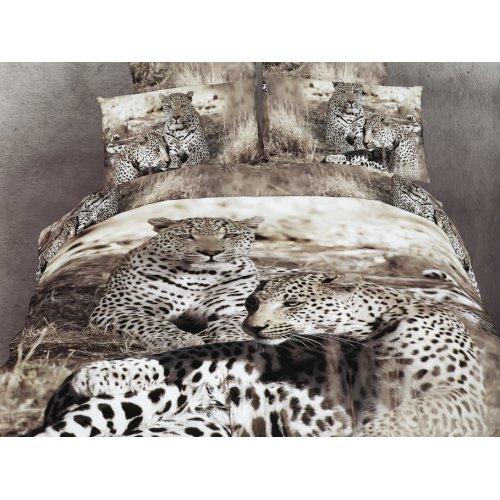 Полуторный комплект постельного белья АВС-291