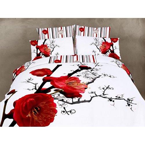 Полуторный комплект постельного белья АВС-228