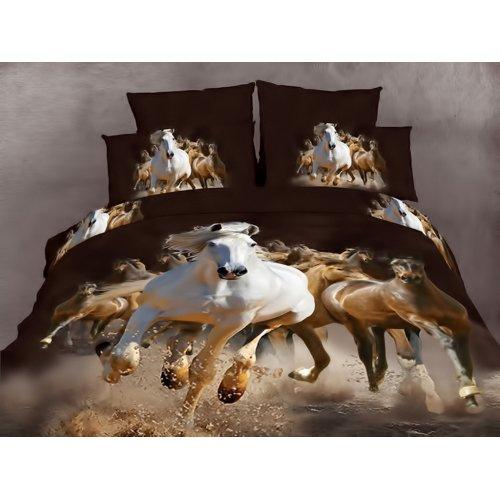 Двуспальный комплект постельного белья АВС-266