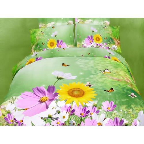 Семейный комплект постельного белья АВС-272