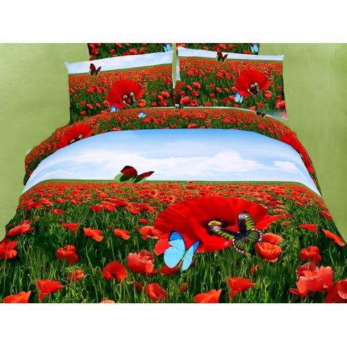 Семейный комплект постельного белья АВС-274