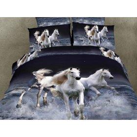 Двуспальный комплект постельного белья АВС-278