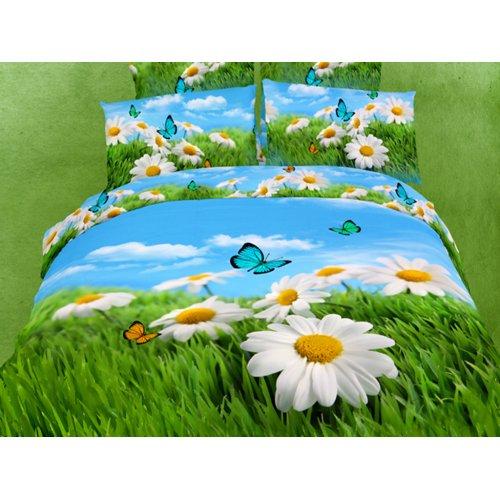 Полуторный комплект постельного белья АВС-285