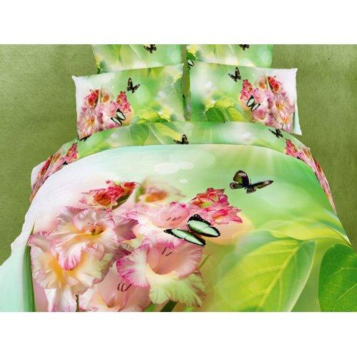 Семейный комплект постельного белья АВС-286