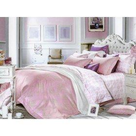 Полуторный комплект постельного белья В-01