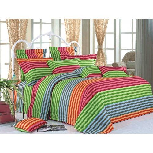 Семейный комплект постельного белья В-06