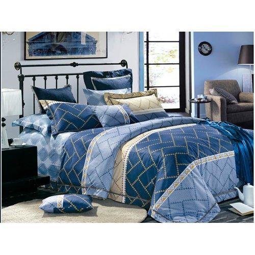 Семейный комплект постельного белья В-07