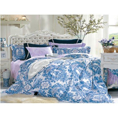 Семейный комплект постельного белья В-09