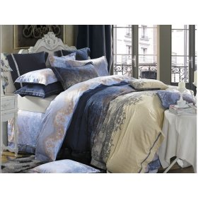 Семейный комплект постельного белья В-13