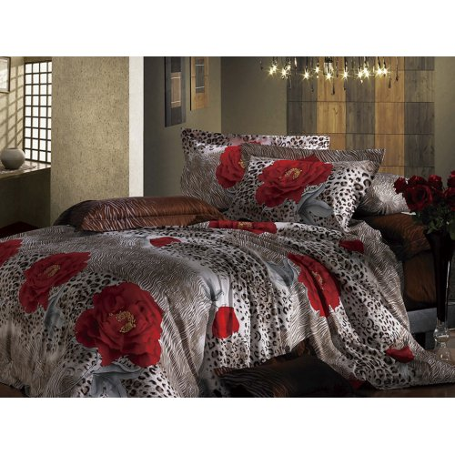 Полуторный комплект постельного белья АВ-301