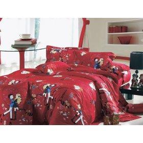 Семейный комплект постельного белья АВ-318