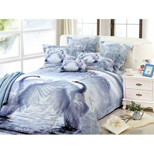 Полуторный комплект постельного белья АВ-356