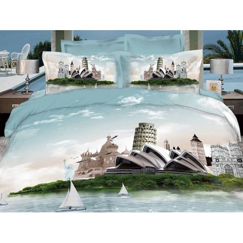 Полуторный комплект постельного белья АВ-365