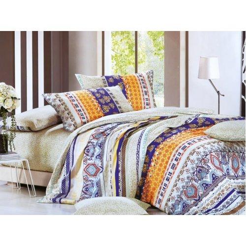 Семейный комплект постельного белья Y-230-582