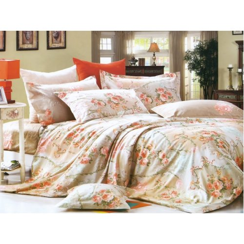 Полуторный комплект постельного белья Y-230-594